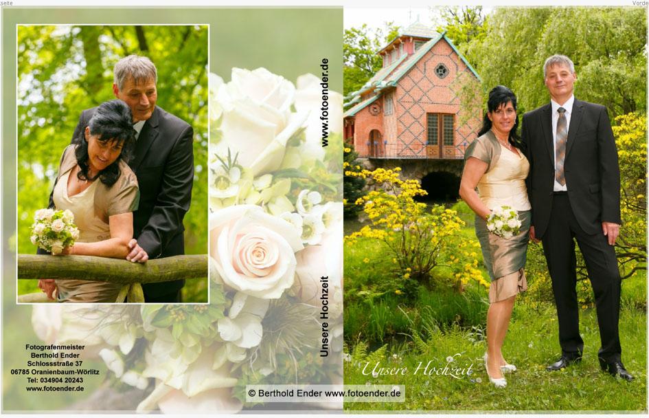 Echtfotobuch zur Hochzeit