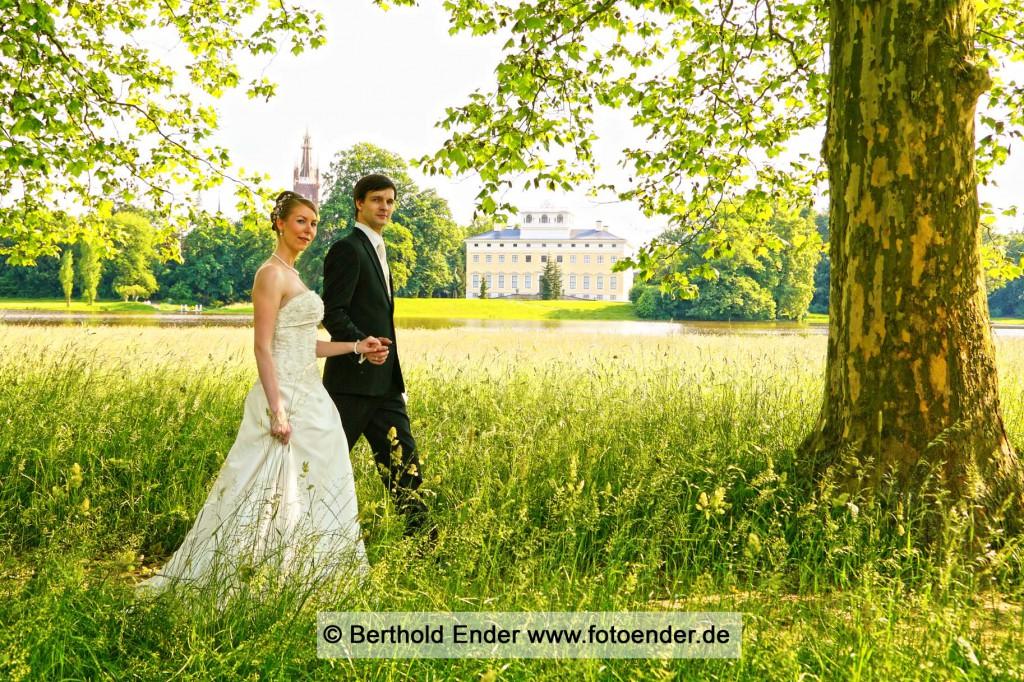 Hochzeit im Wörlitzer Park