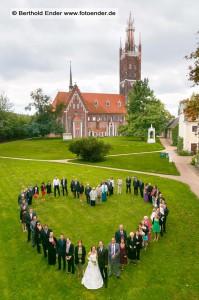 Kirchliche Trauung in Wörlitz: Fotostudio Ender