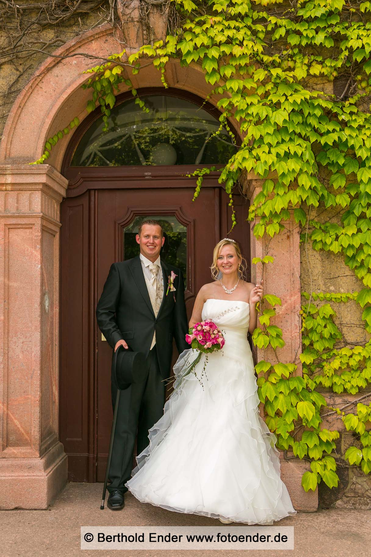 Hochzeitsfotos im Herrenhaus in Muldenstein