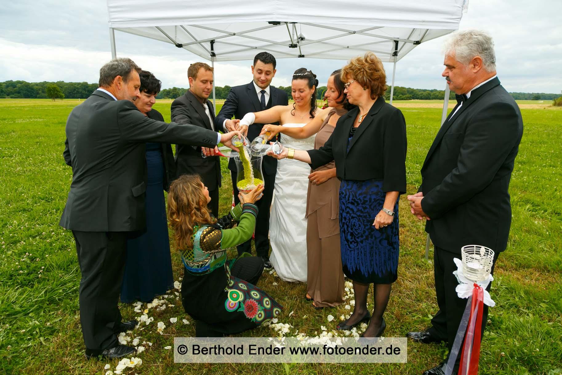 Freie Trauung in Wörlitz an der Luisenklippe