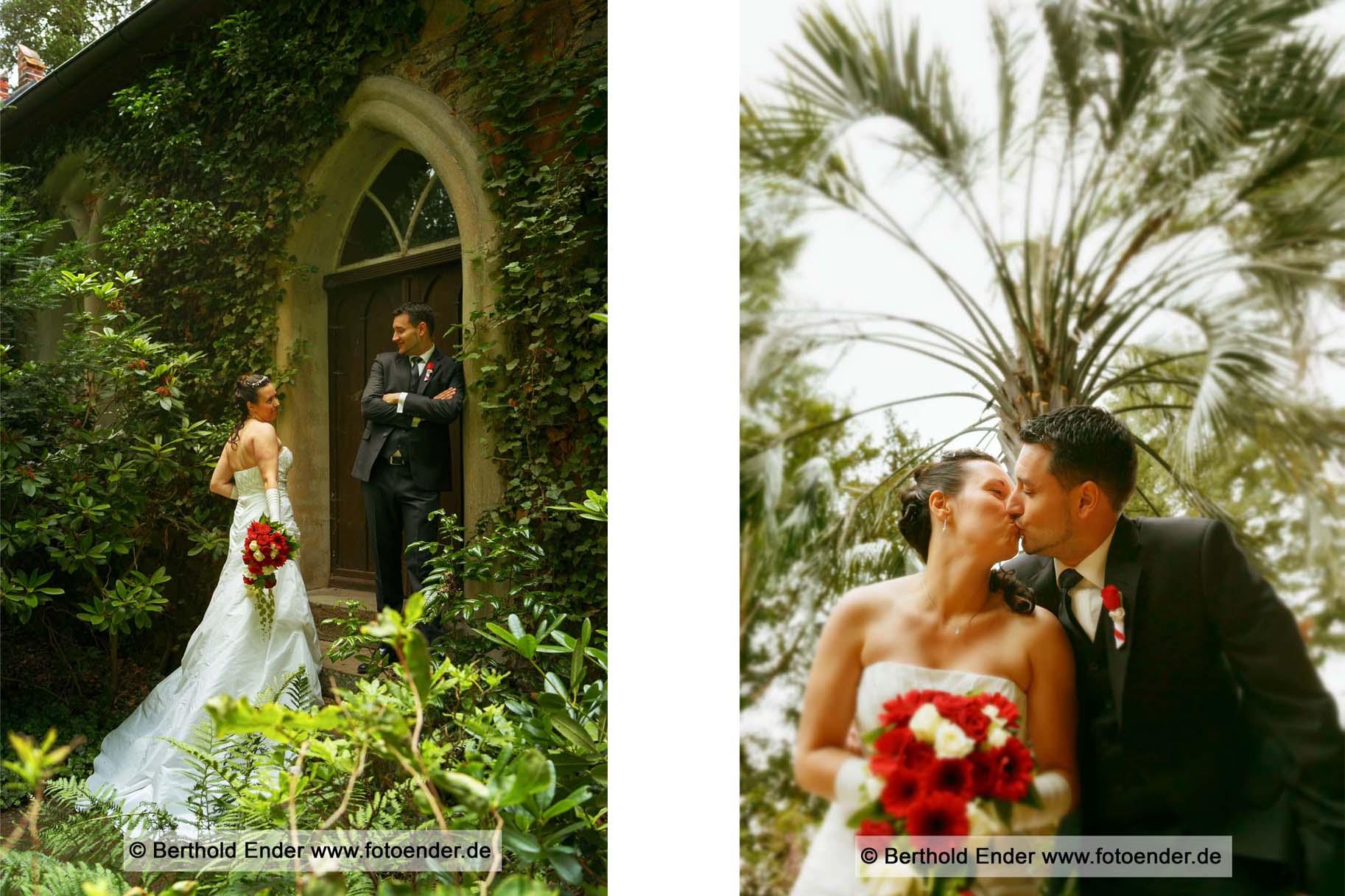 Hochzeitsbilder im Wörlitzer Park, Fotostudio Ender