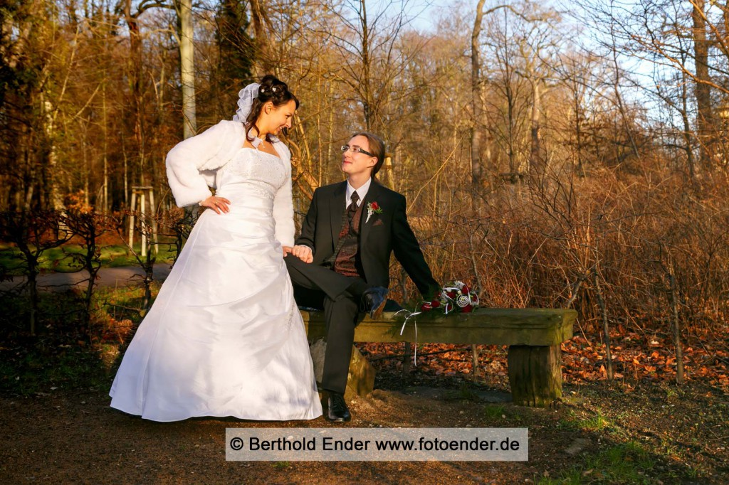 Hochzeitsbilder im Georgium, Fotostudio Ender, Oranienbaum-Wörlitz
