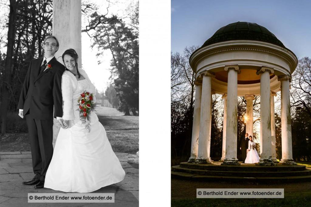 Hochzeitsbilder im Georgium Dessau-Rosslau, Fotostudio Ender, Oranienbaum-Wörlitz