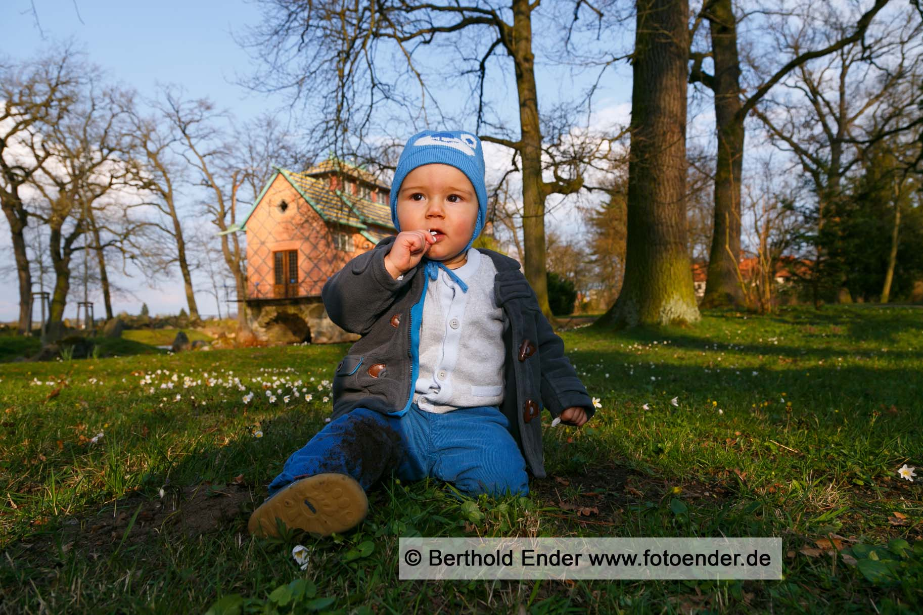 Fotoshooting on location im Park Oranienbaum - Fotostudio Ender