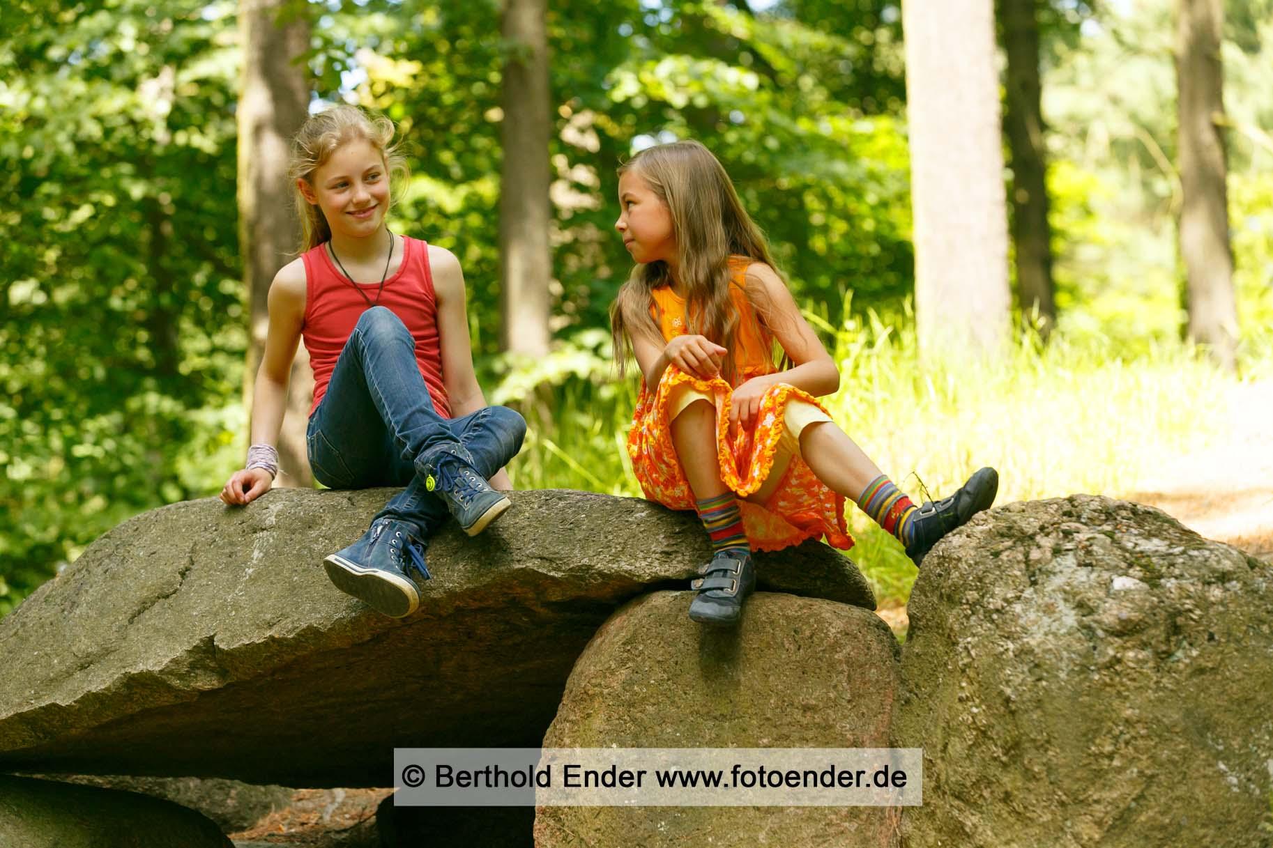 Fotoshooting on location im Park Oranienbaum - Fotostudio Ender