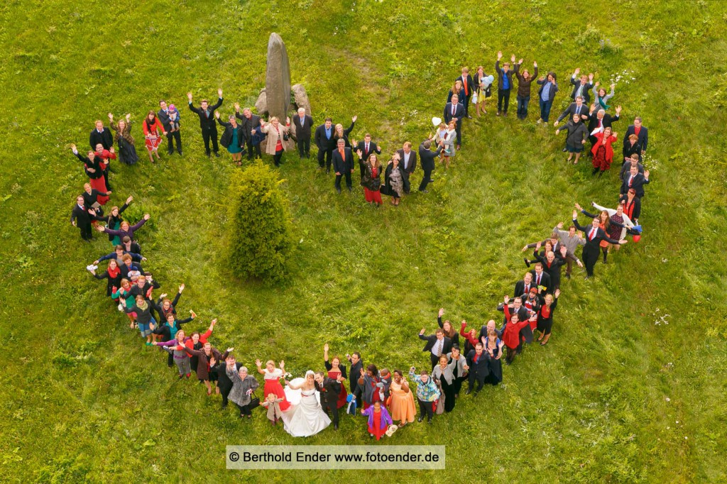 Gruppenbild vom Kirchturm in Waldersee: Fotostudio Ender