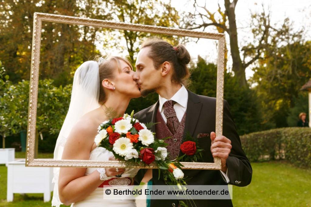 Hochzeitsfotos im Luisium bei Dessau-Roßlau: Fotostudio Ender