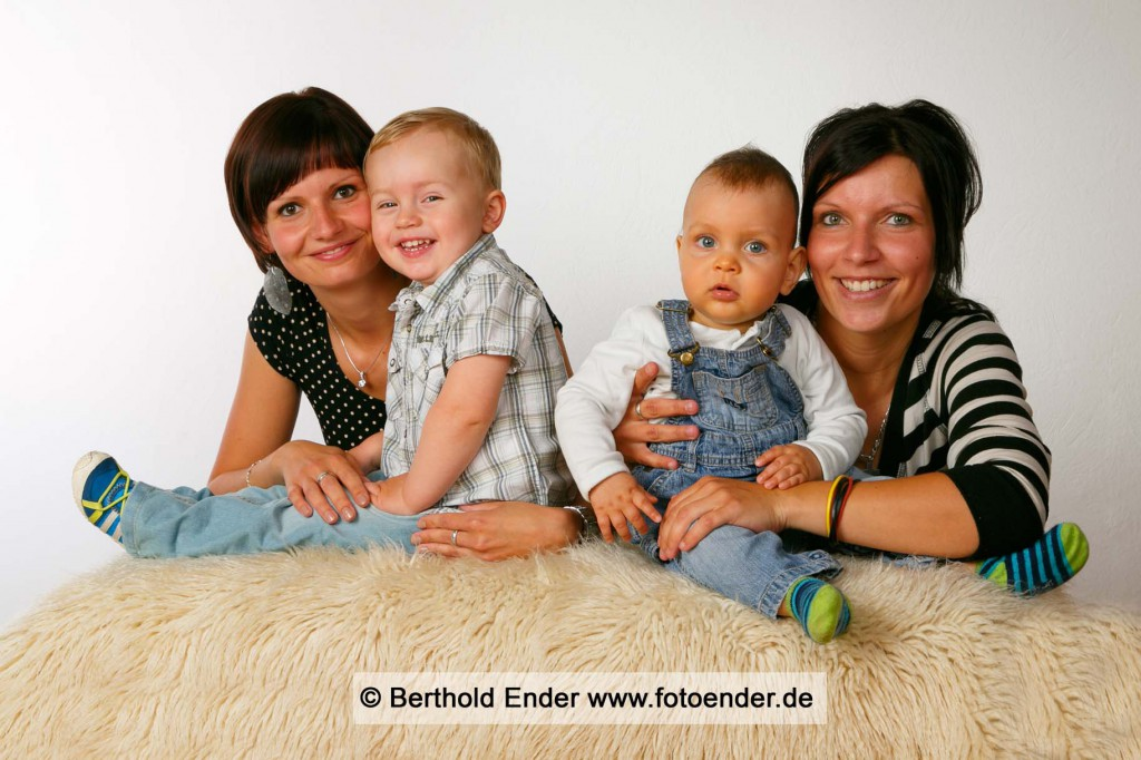 Familienbilder im Studio: Fotostudio Ender, Oranienbaum-Wörlitz