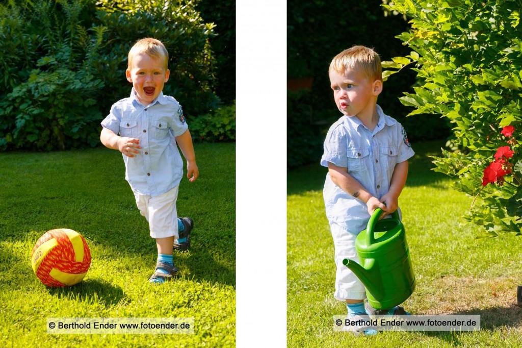 Kinderbilder im Freilichtstudio von Foto-Ender in Oranienbaum