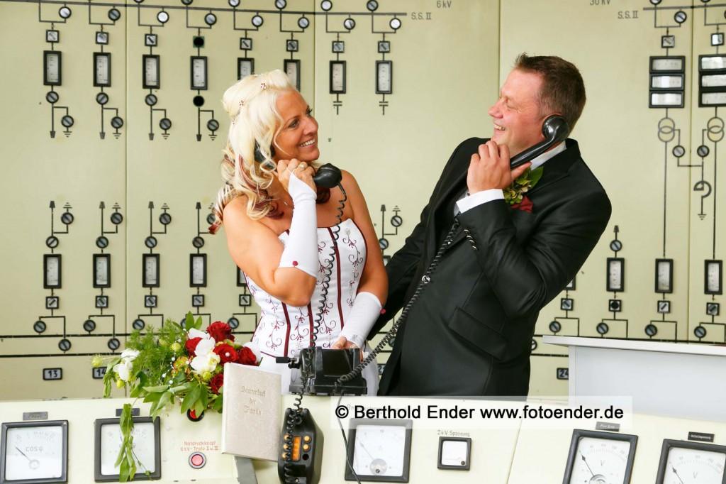 Hochzeitsfotos in Ferropolis, der Stadt aus Eisen -Fotostudio Ender, Oranienbaum-Wörlitz