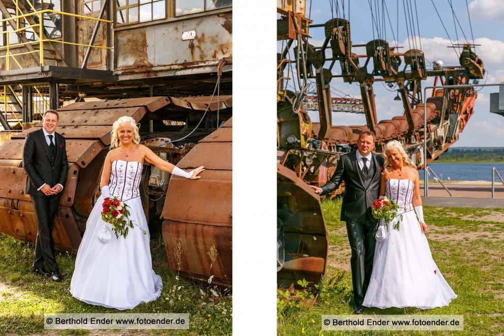 Hochzeitsfotos in Ferropolis