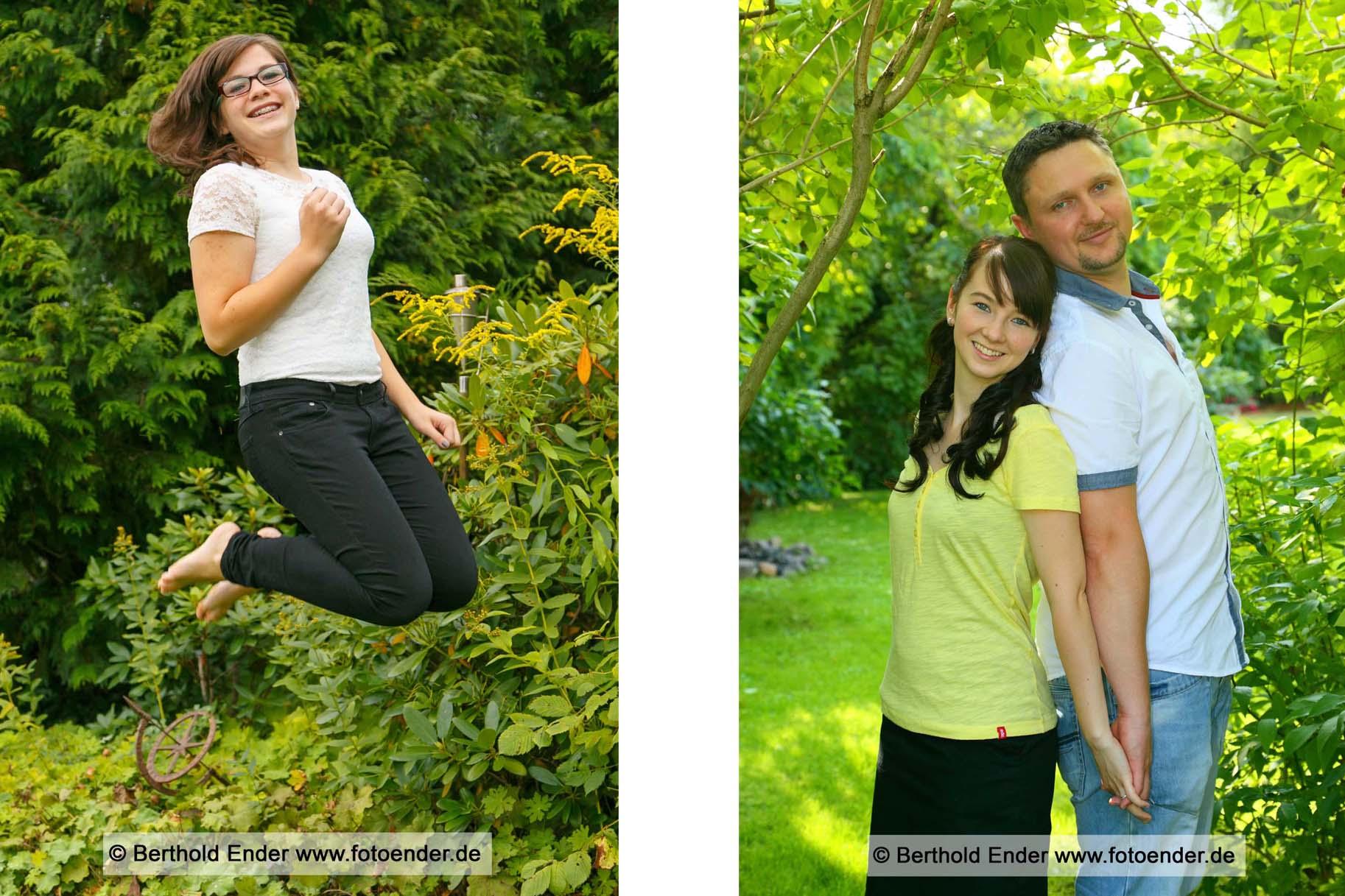 Fotoshooting im Freilichtstudio von Foto-Ender in Oranienbaum