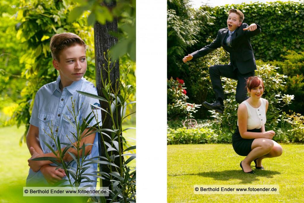 Jugendweihefotos im Freilichtstudio von Foto-Ender in Oranienbaum