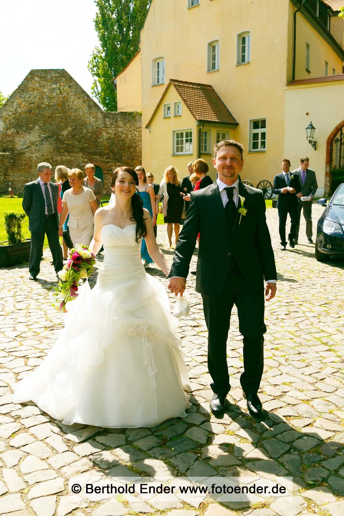 Hochzeit auf der Wasserburg in Gommern