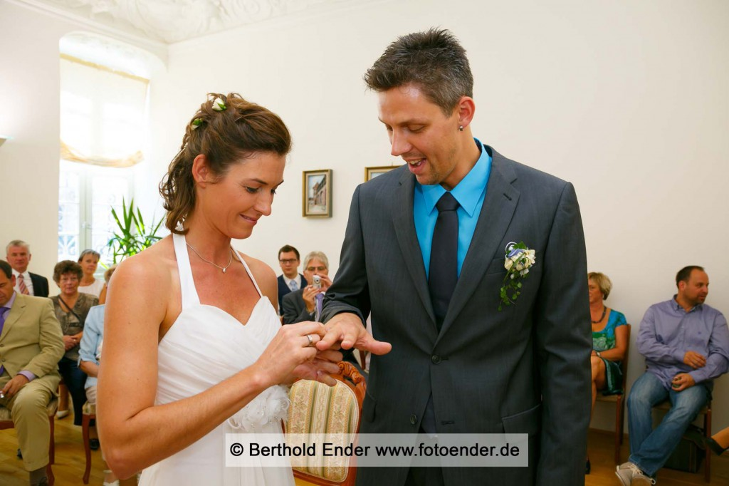 Heiraten im Standesamt Zerbst - Fotostudio Ender