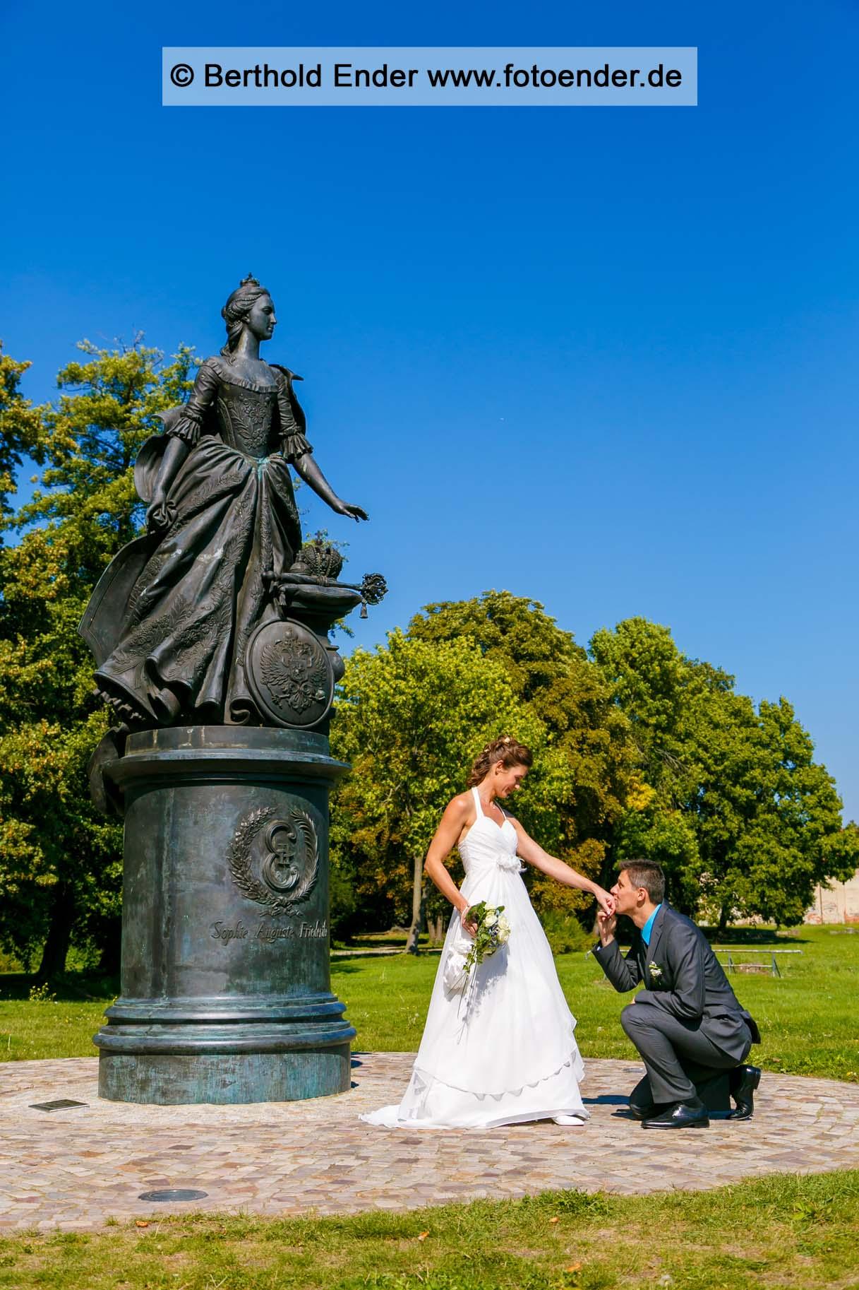 Heiraten in Zerbst-Hochzeitsfotograf Berthold Ender