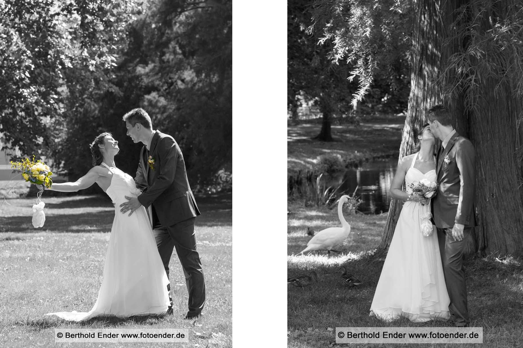 Brautpaar-Shooting in Zerbst - Fotostudio Ender