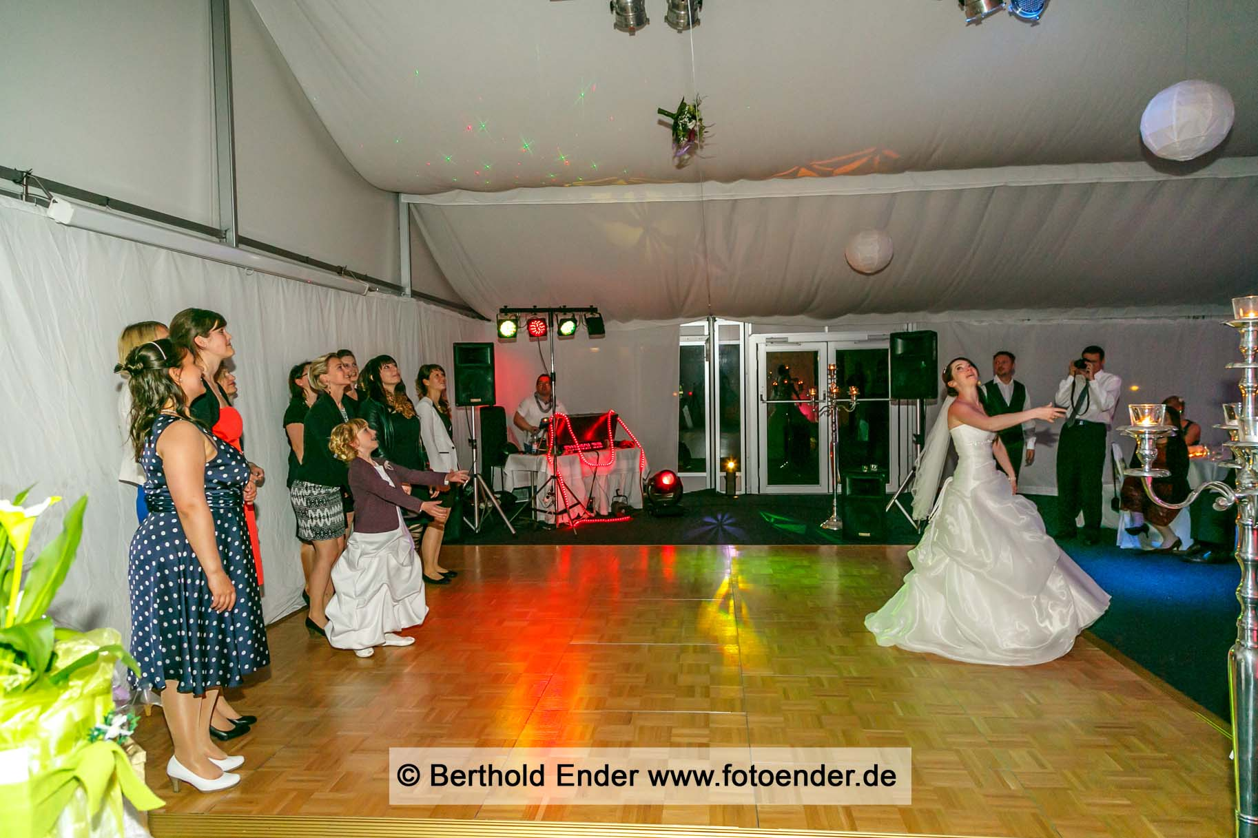 Hochzeitsfeier auf der Wasserburg in Gommern
