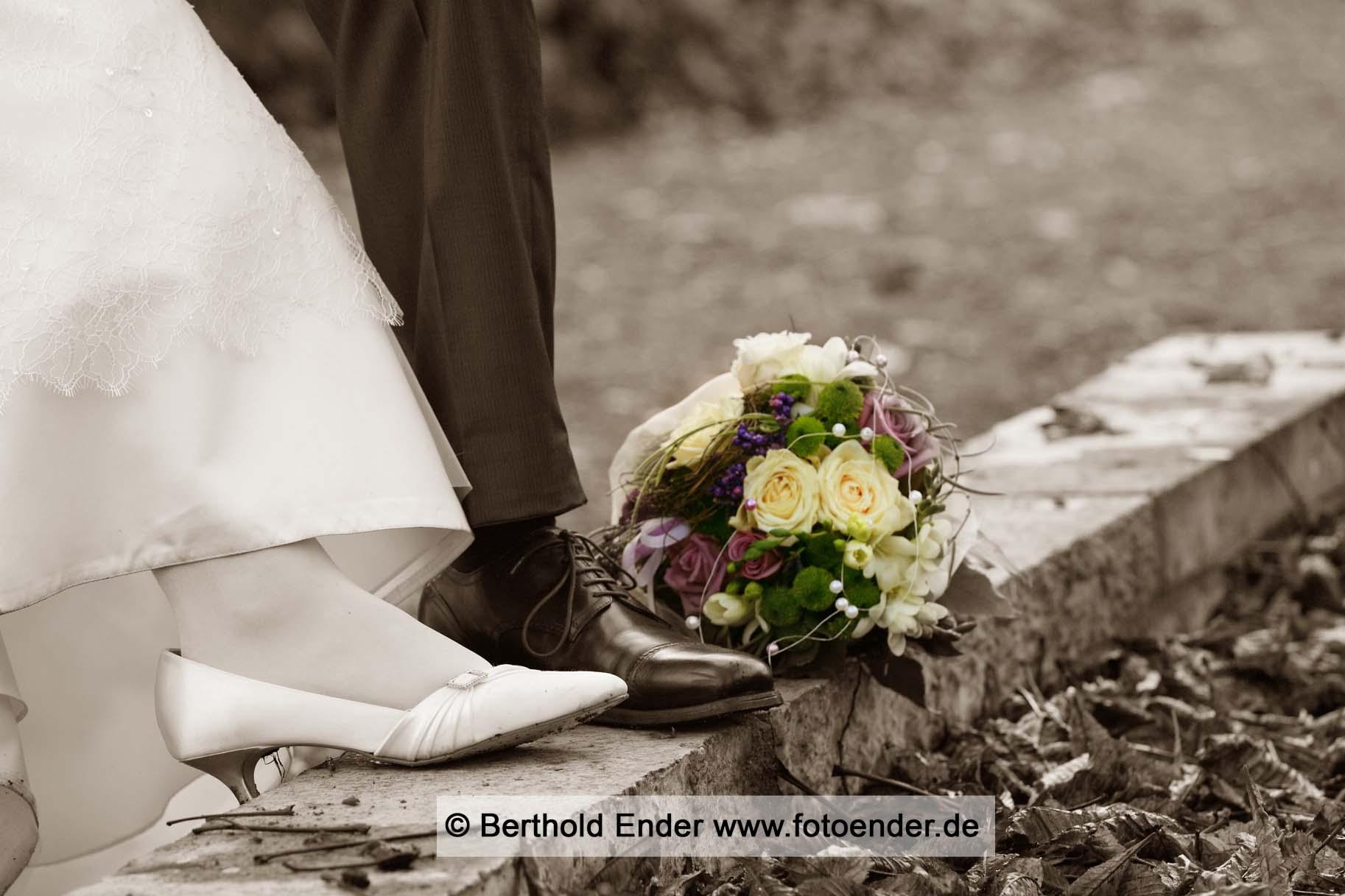 Brautpaar-Fotoshooting in Wittenberg: Fotostudio Ender
