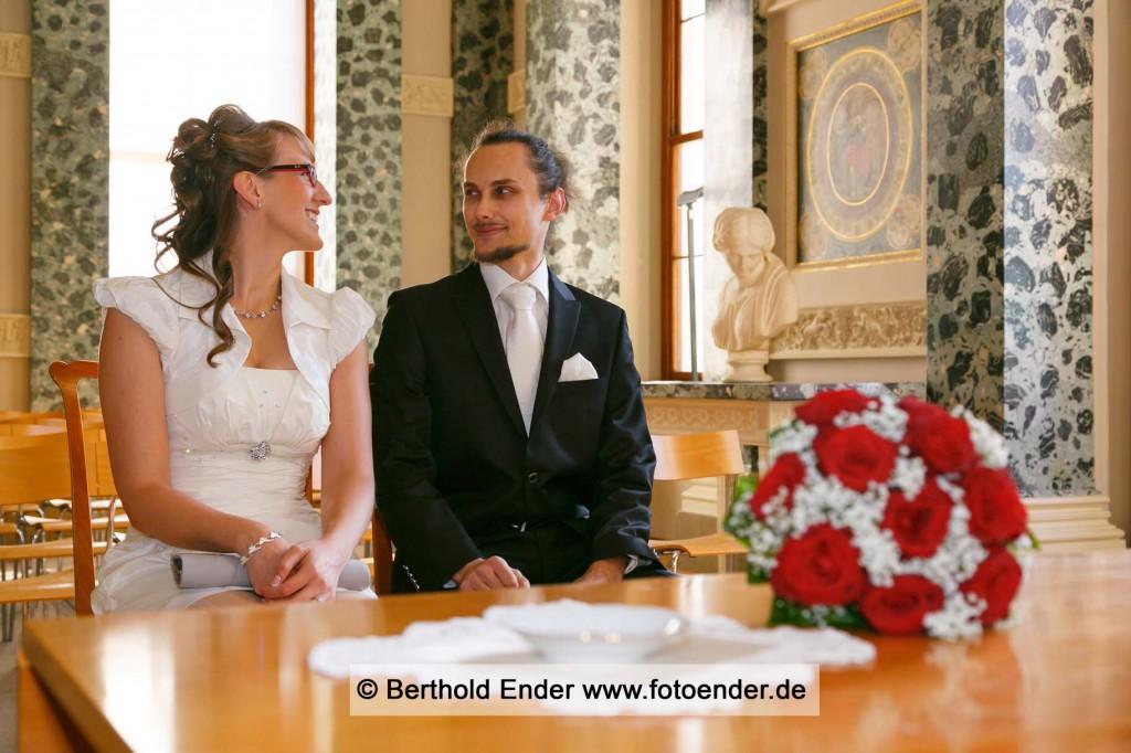 Heiraten im Luisium- Fotostudio Ender