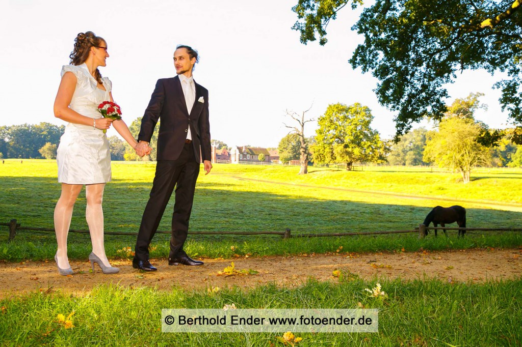 Hochzeitsfotos im Luisium: Fotostudio Ender