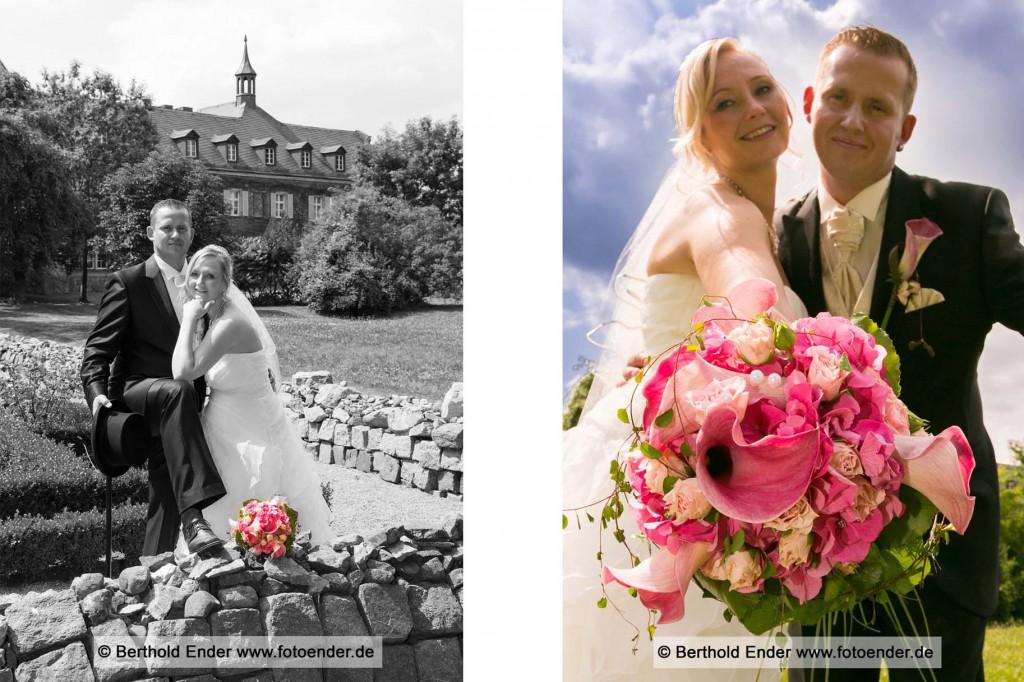 Hochzeit im  Herrenhaus in Muldenstein