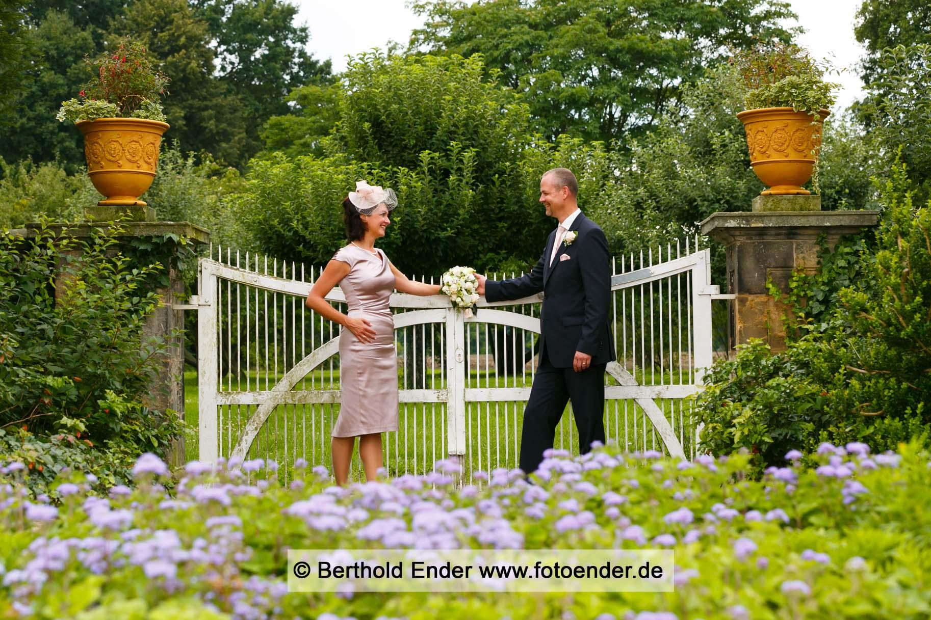 Silberhochzeitsfotos im Wörlitzer Park