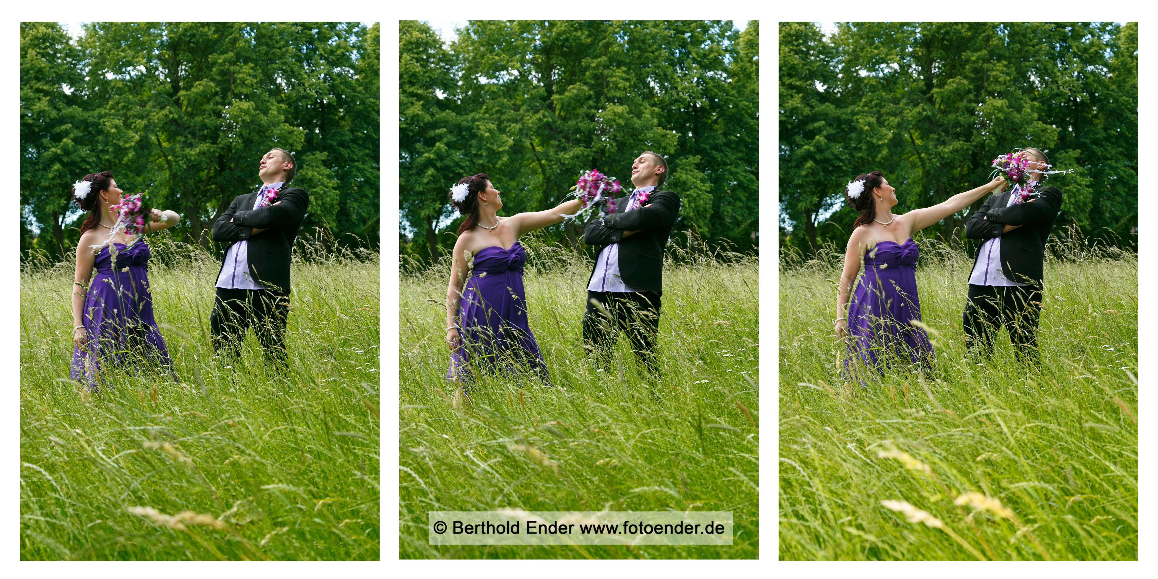 Heiraten in Wörlitz - Brautpaarfotos - Fotostudio Ender