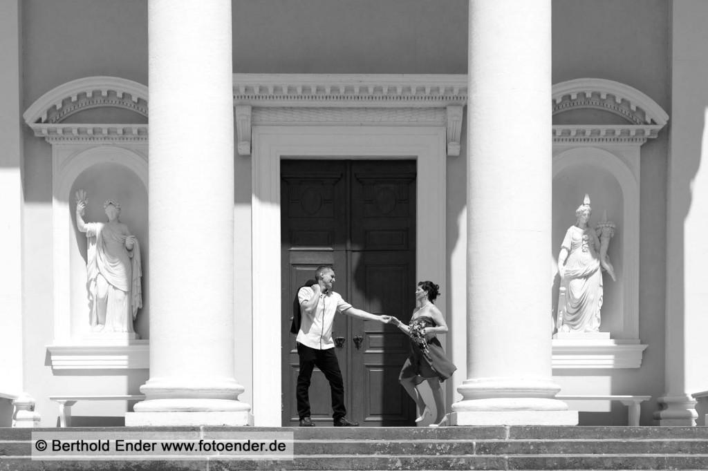 Hochzeitsfotos in Wörlitz