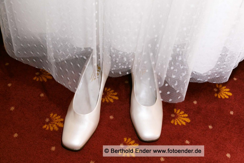 Brautschuhe - Fotostudio Ender