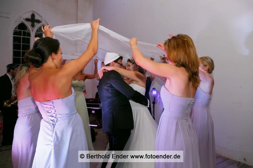 Hochzeitsfeier im Palmenhaus in Wörlitz