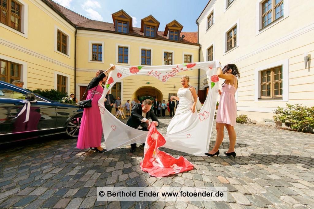 standesamtliche Trauung im Schloss Jessen