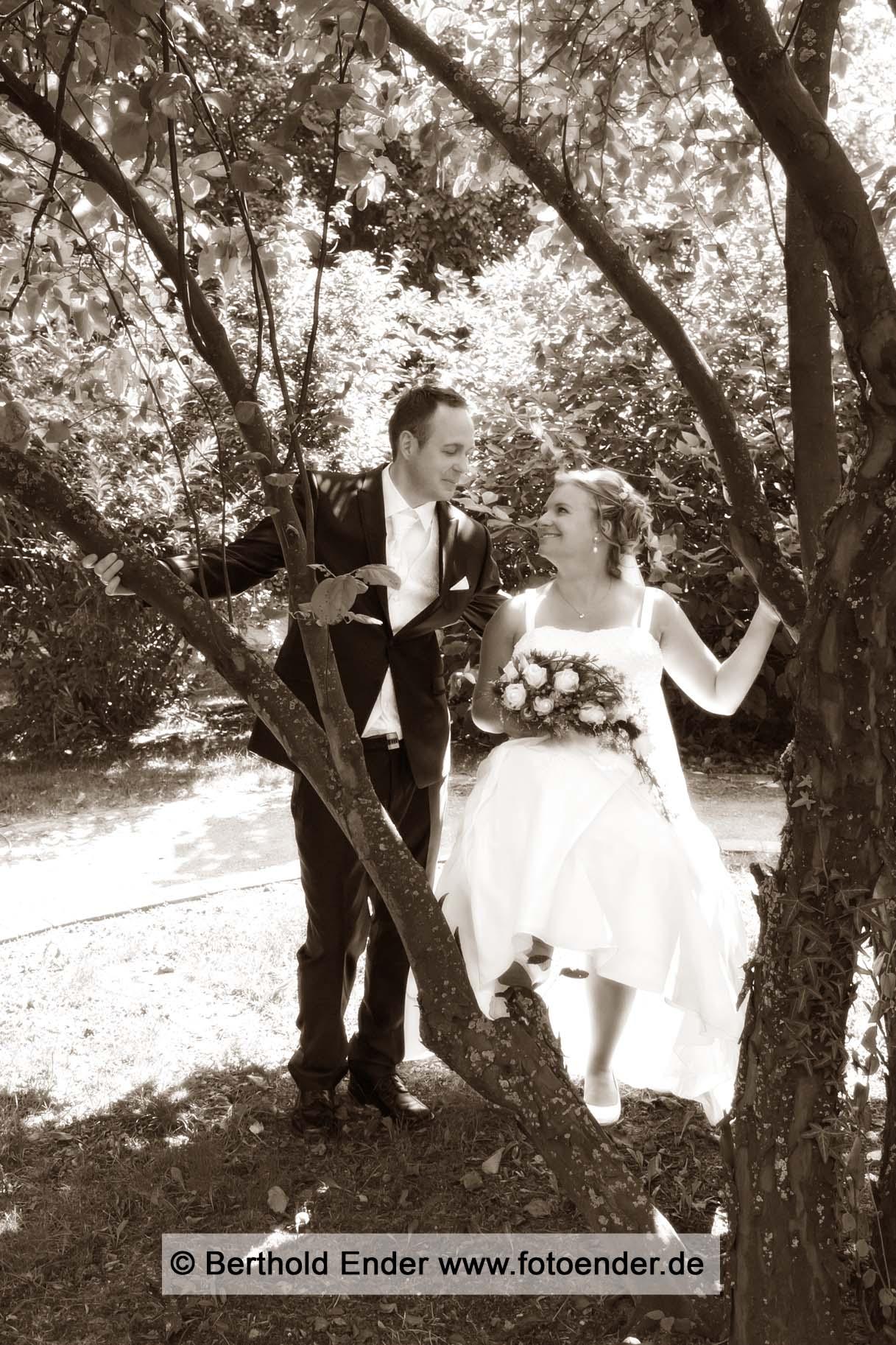 Brautpaar Shooting am Schloss Jessen