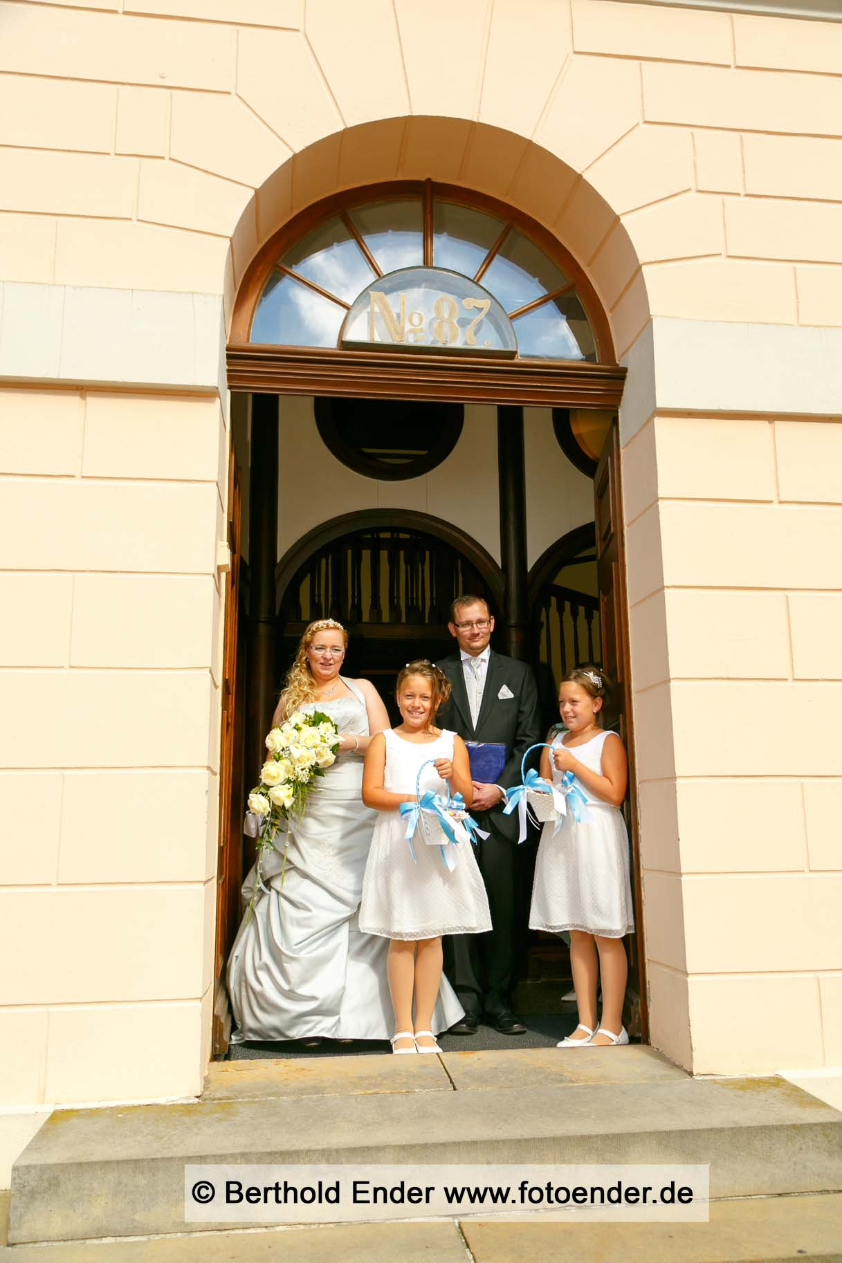 Standesamtliche Trauung in Wörlitz