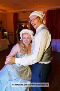 Ganztagsbegleitung einer Hochzeit in Wörlitz