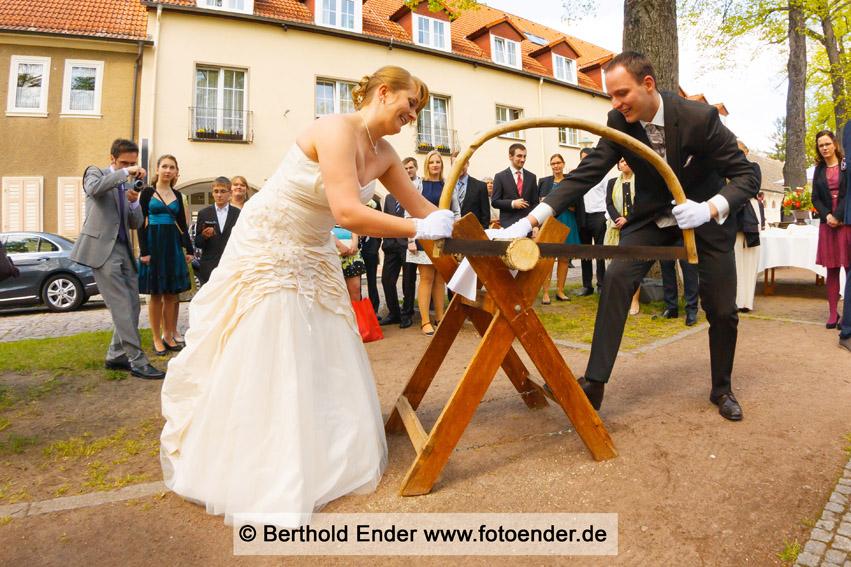 Brautpaarfotos in Wörlitz