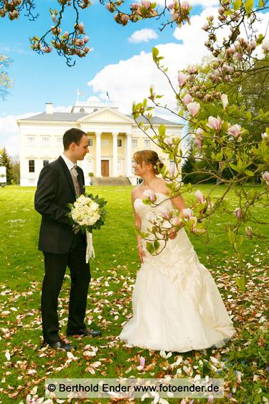 Brautpaarfotos im Wörlitzer Park
