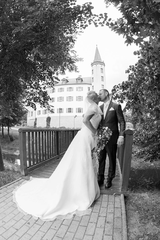 Heiraten auf Schloß Jessen - Fotostudio Ender
