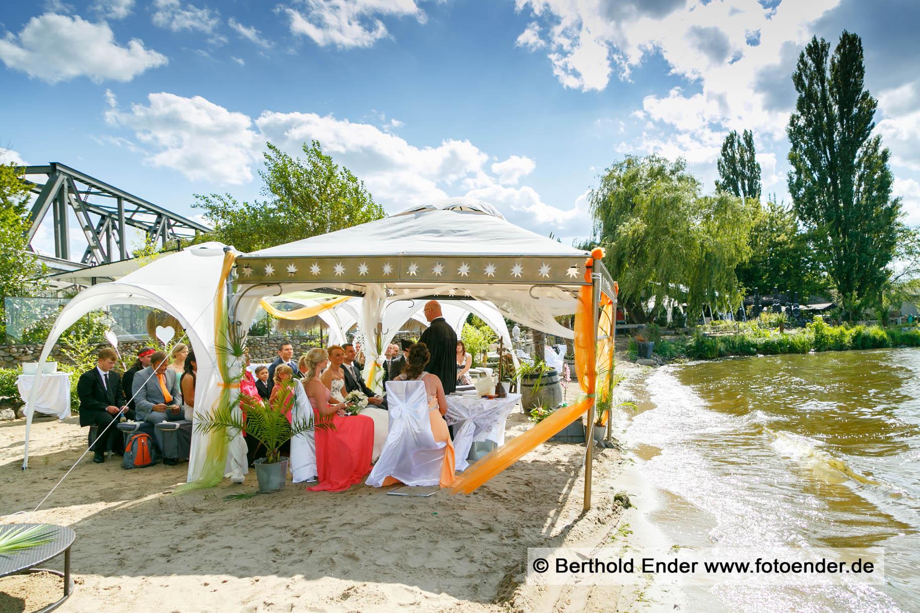 Hochzeit im Seebad Caputh