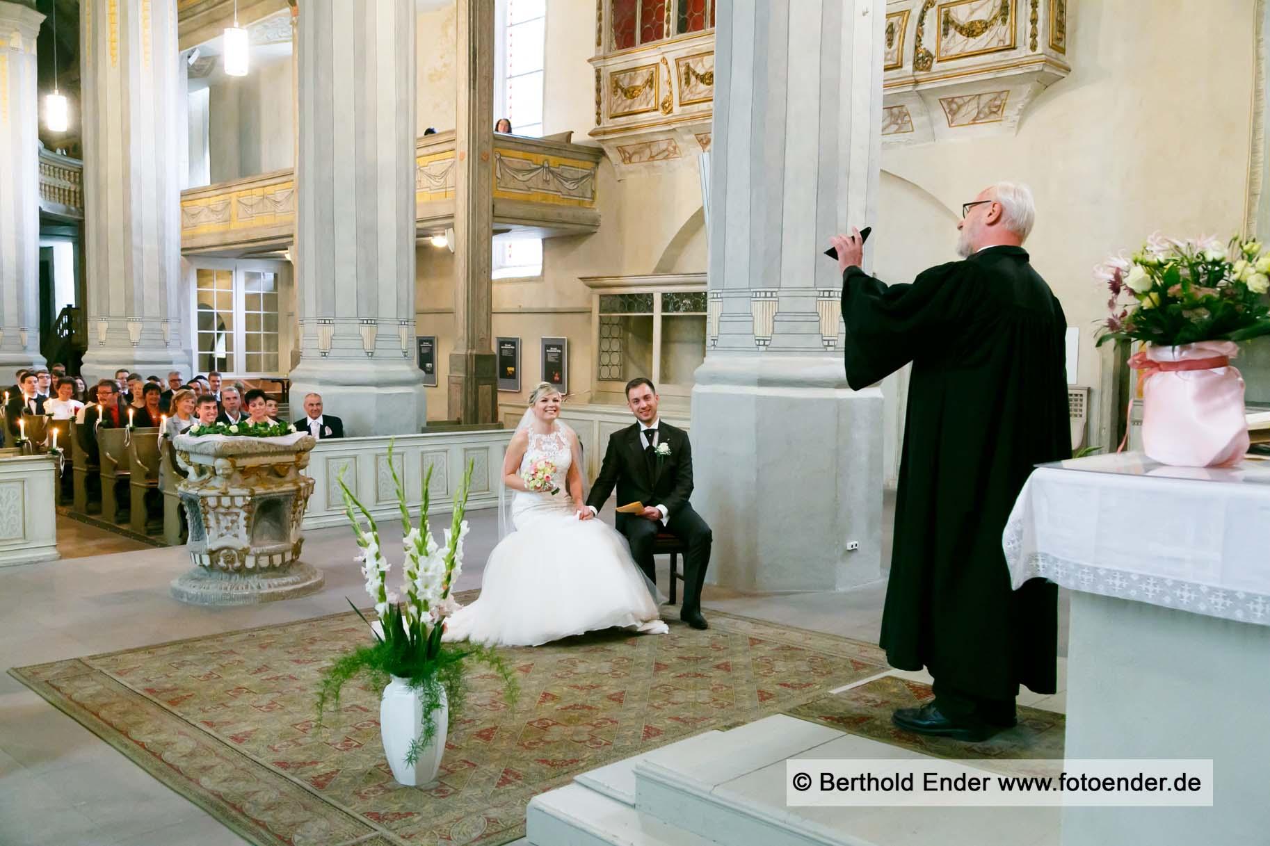 Kirchliche Trauung in Bad Schmiedeberg
