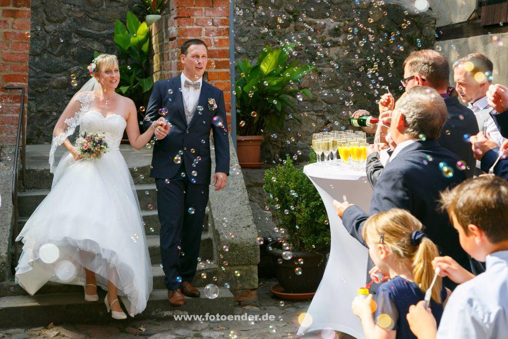 Hochzeit auf Burg Rabenstein im Fläming