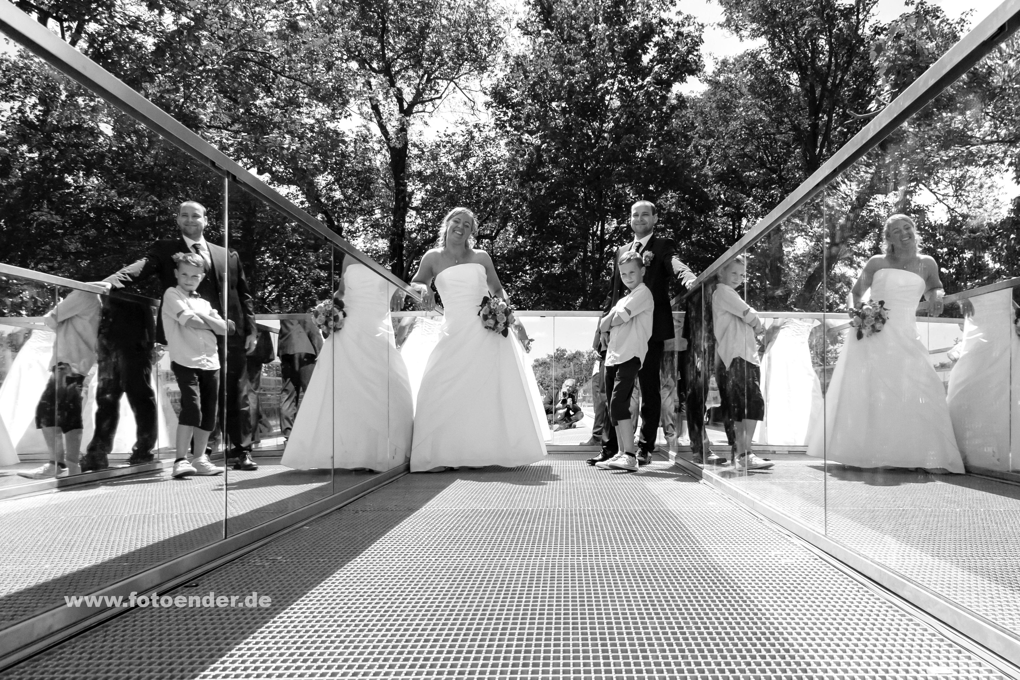 Hochzeitsfotos auf dem Bunkerberg