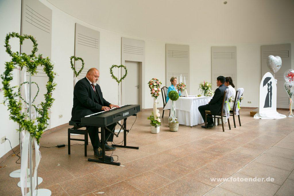 Freie Trauung im Kurhaus von Bad Schmiedeberg