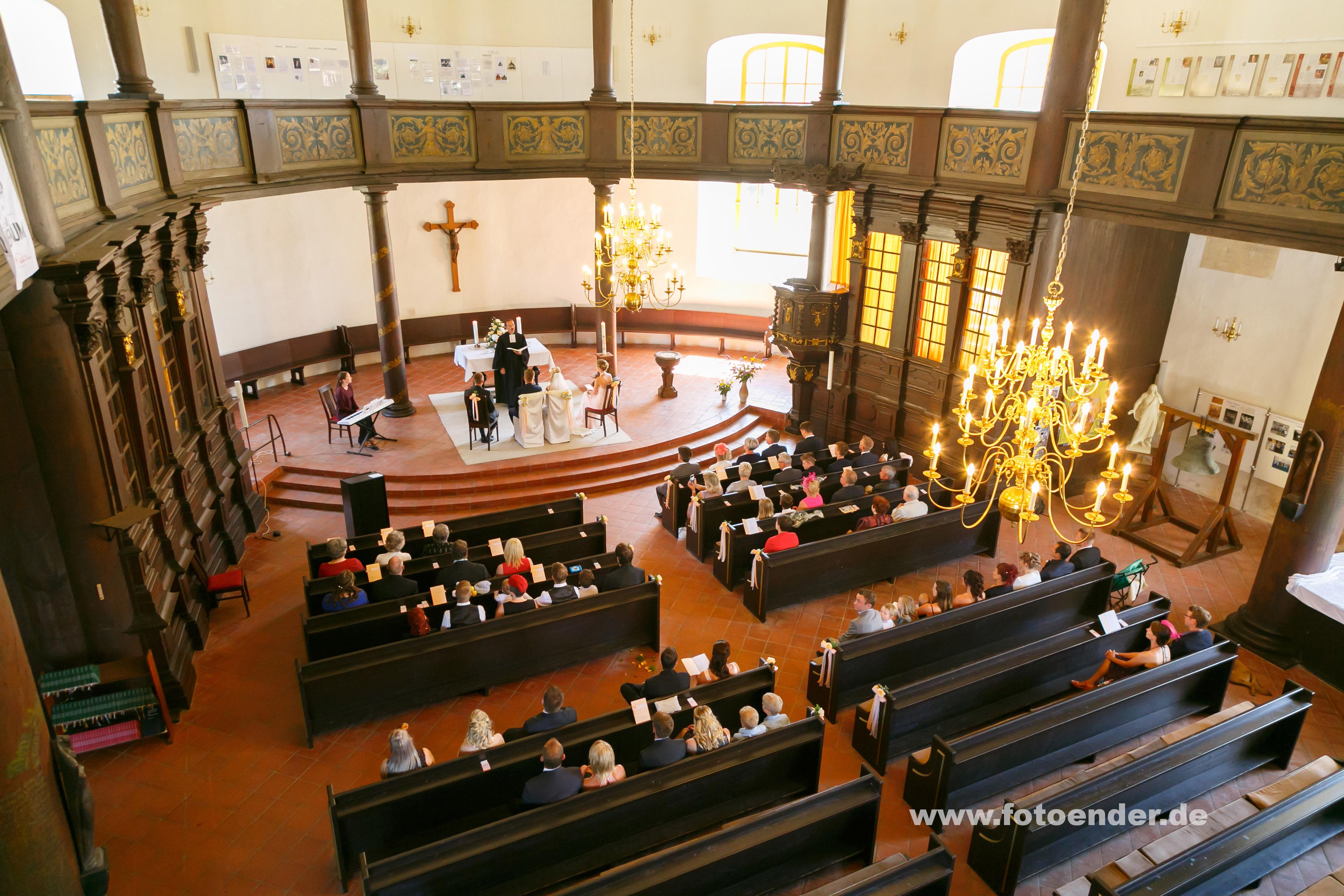 Kirchliche Hochzeit in Oranienbaum