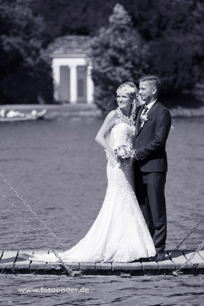 Hochzeitsfotos im Wörlitzer Park