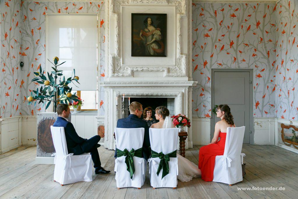 Heiraten im Schloß Oranienbaum