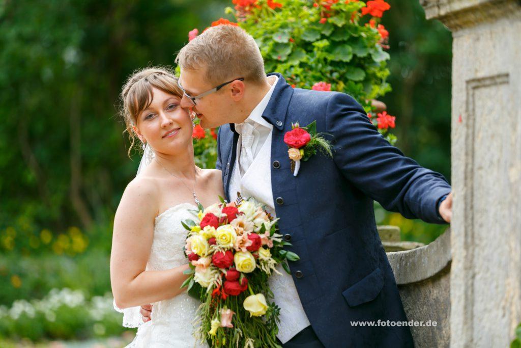 Brautpaar Fotoshooting im Wörlitzer Park