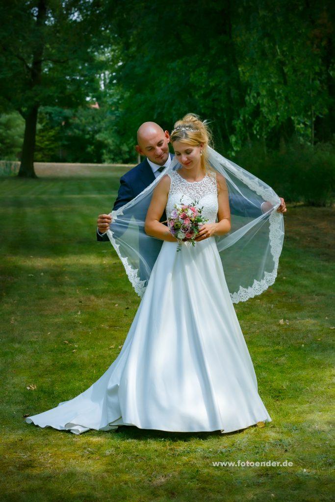Hochzeitsfotos im Park Oranienbaum