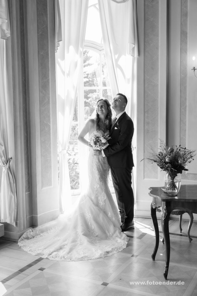 Hochzeitsfotos im Gohliser Schlösschen